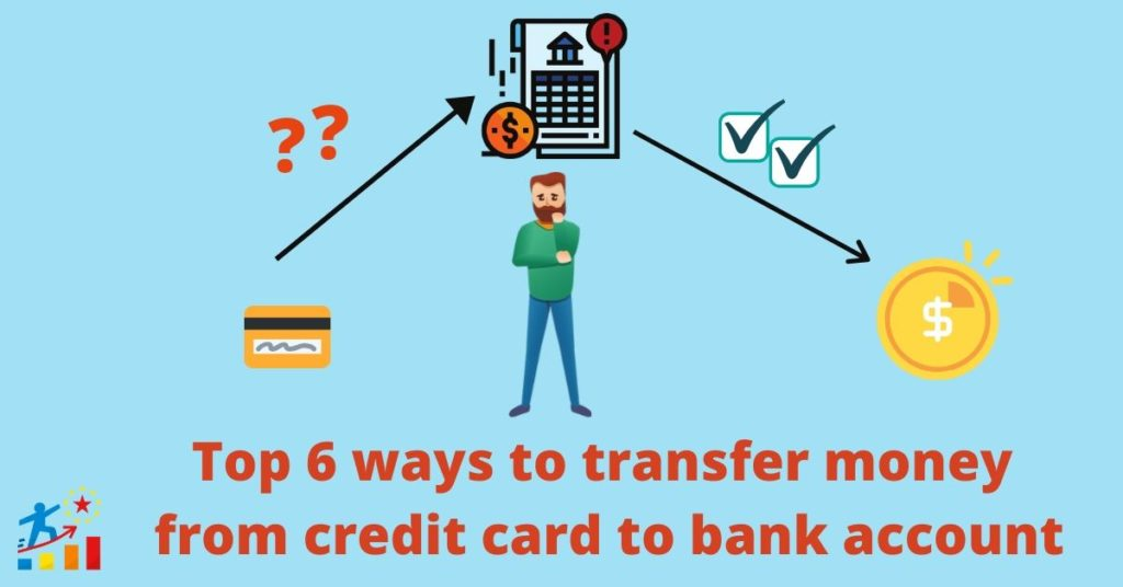 top ways to transfer funds from credit card to bank account online