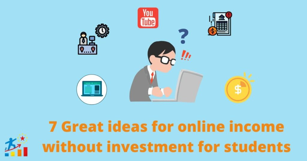 25 Ways to earn online money without investment for students in India