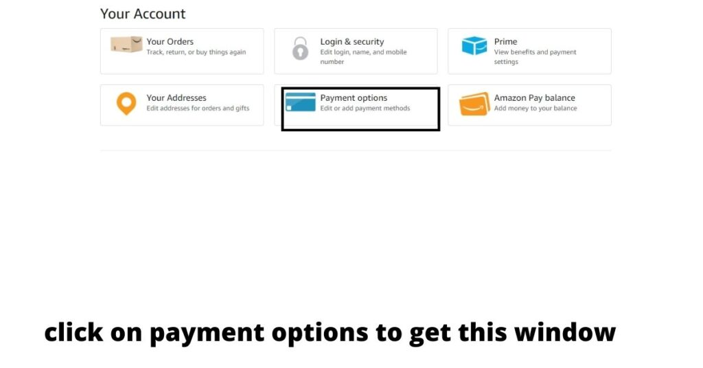 can you remove credit card from amazon,