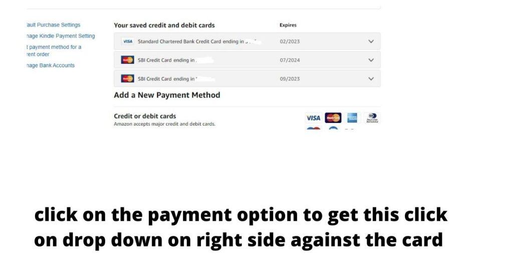 amazon remove card,