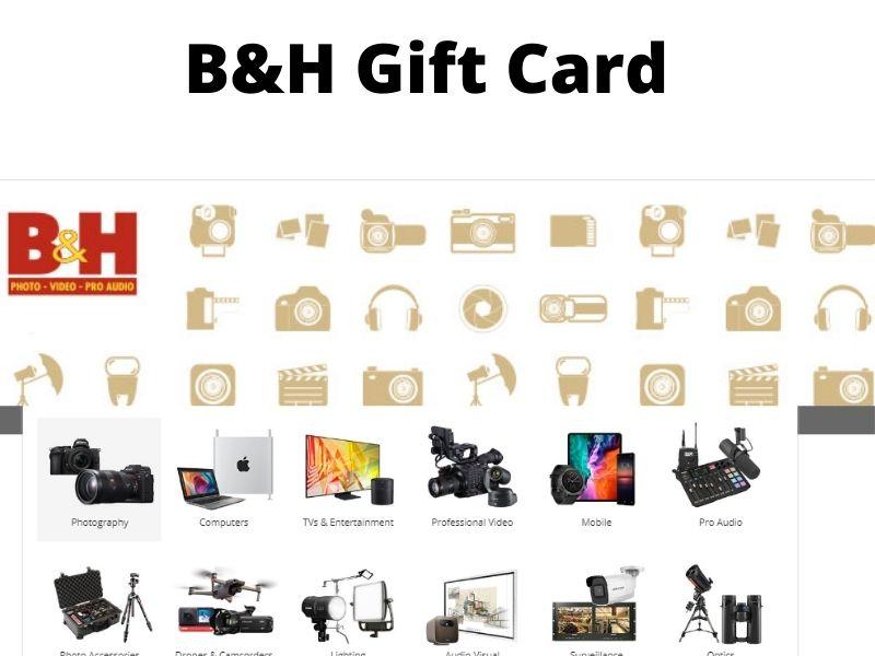 b&h gift card balance check