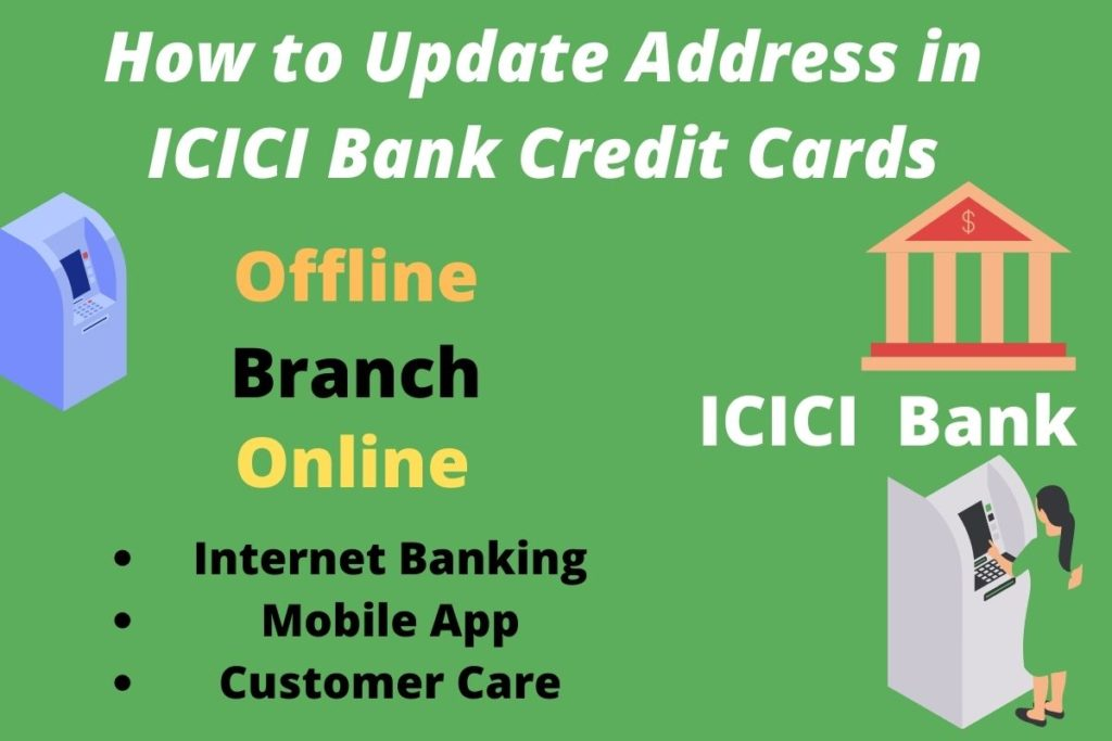 How to Update Address in ICICI Bank Credit Cards