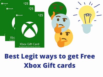 15  Legit Ways To Get Free Xbox Gift Cards And Codes in 2021