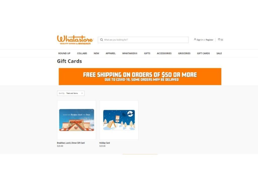 Check Your Whataburger gift card balance in 3 Clicks -