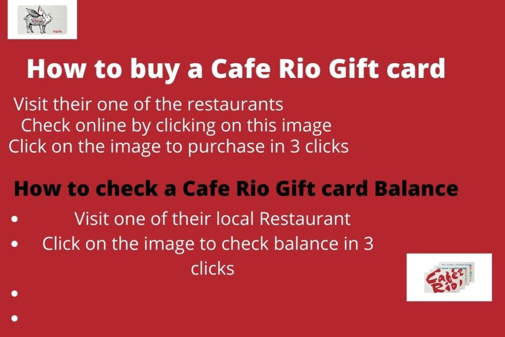 Buy Cafe rio gift Card online