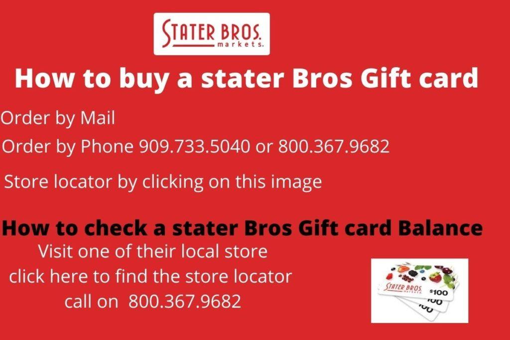 stater bros gift card balance check