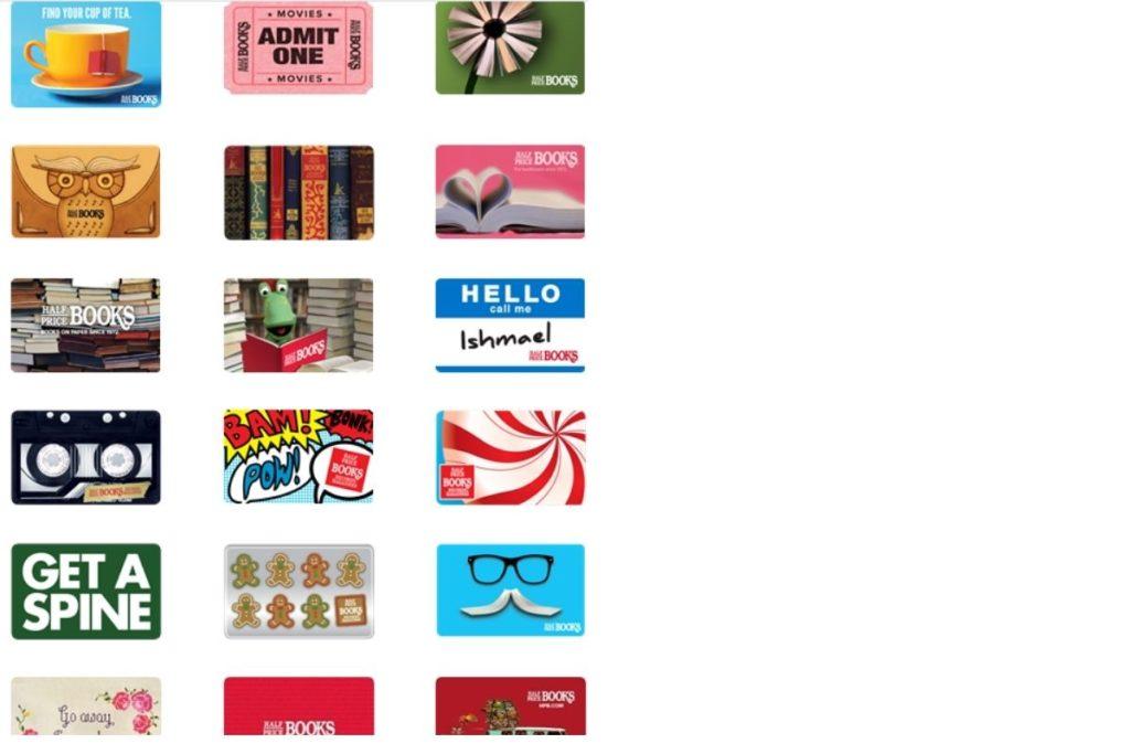 half price books gift card balance
