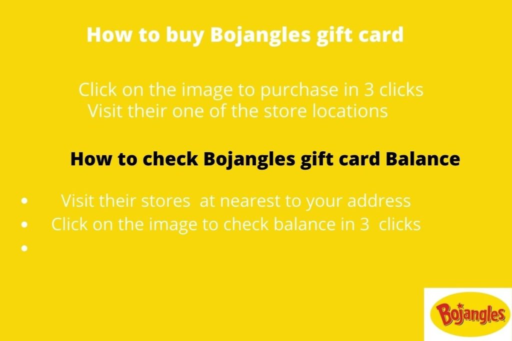 Where to buy bojangles gift card with discounts -
