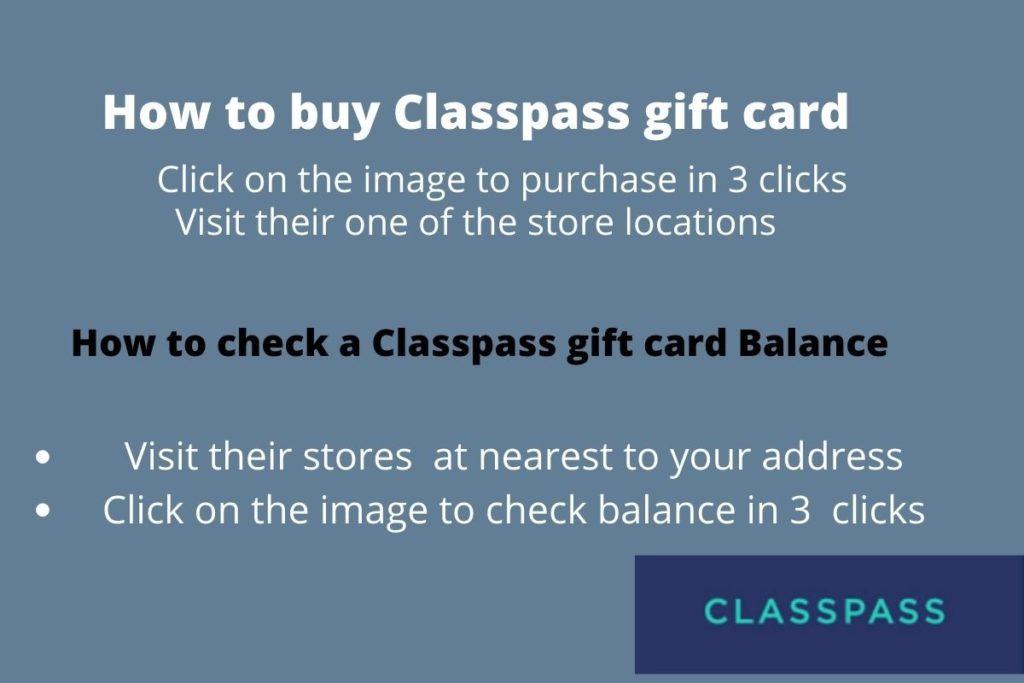 redeem classpass gift card
