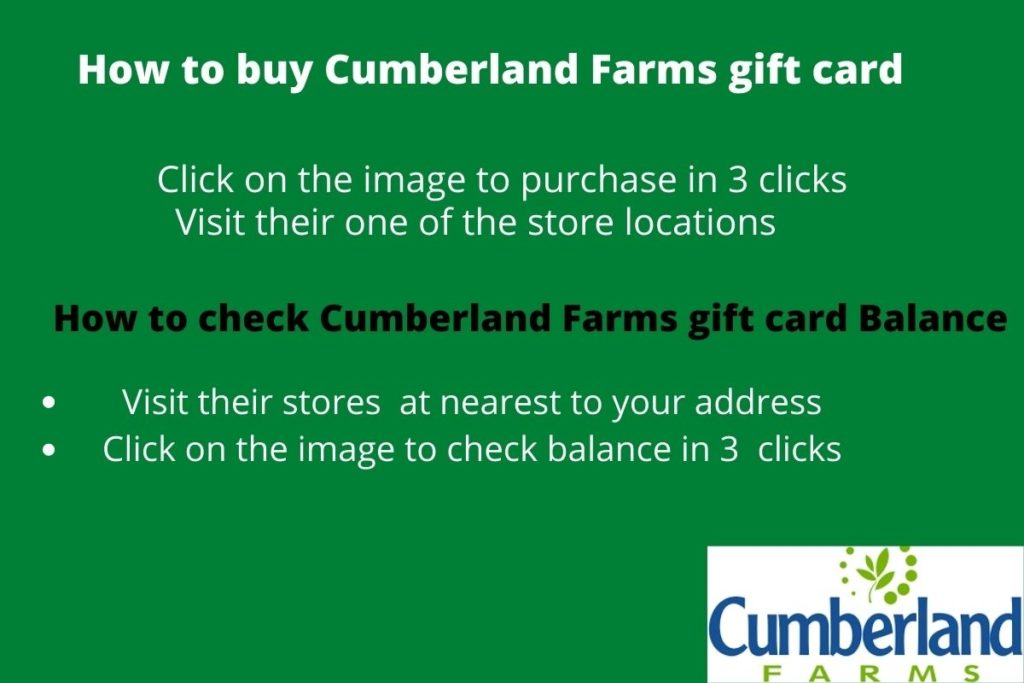 Buy Cumberland farms gift card online
