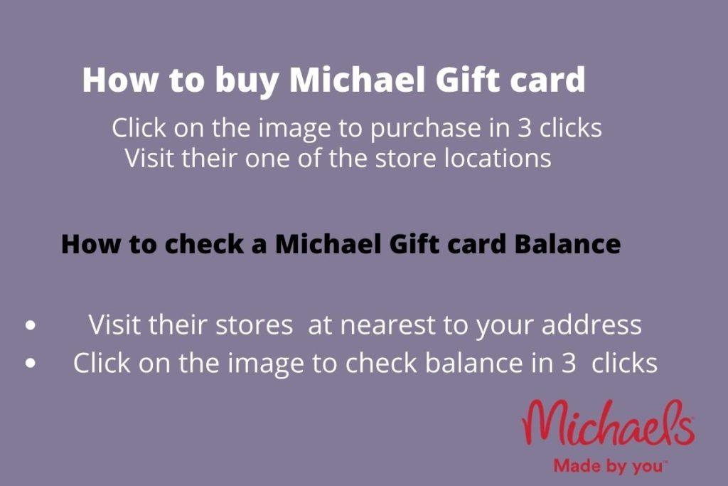 Buy michaels gift card online