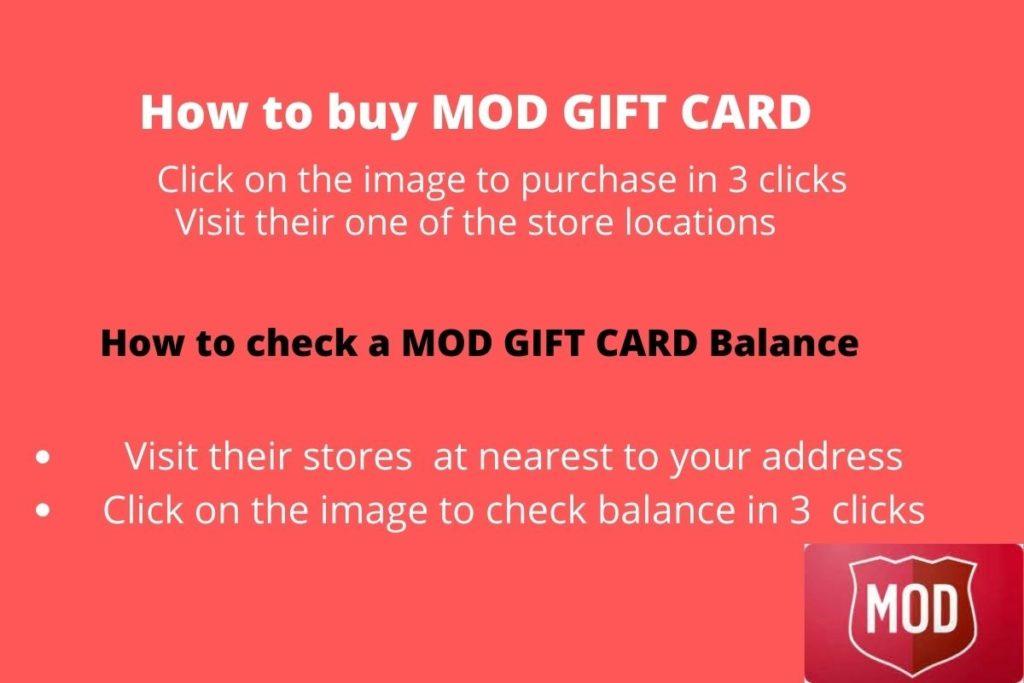 Where to Check Mod Pizza Gift Card Balance -