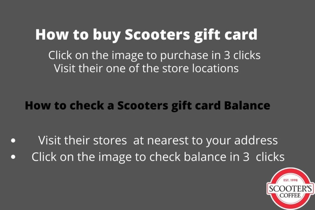 scooters gift card balance check