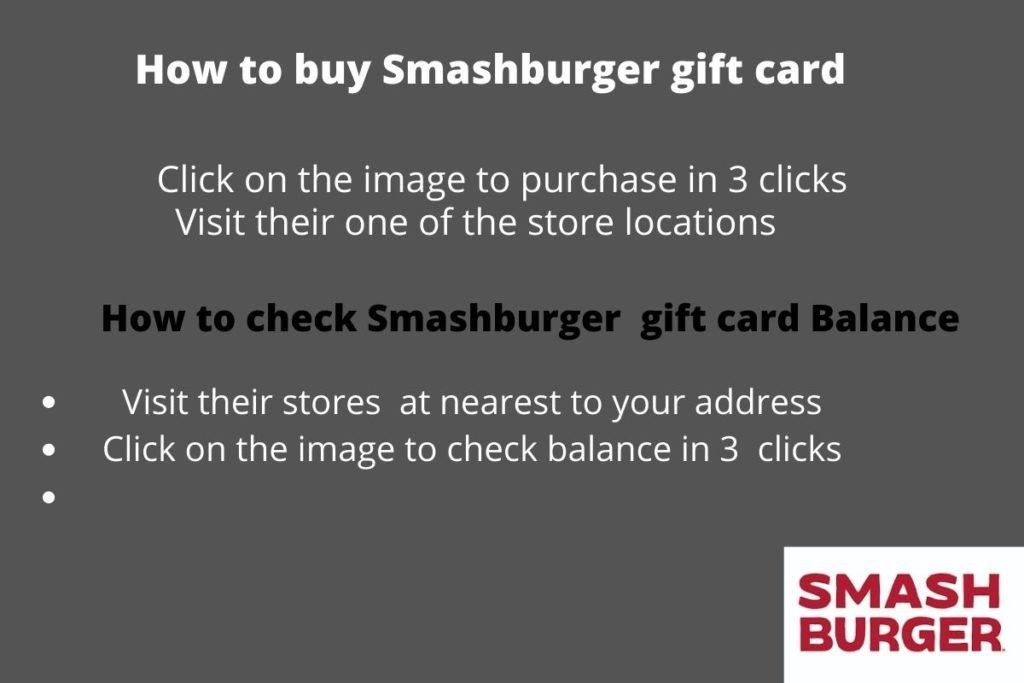 Buy smashburger gift card