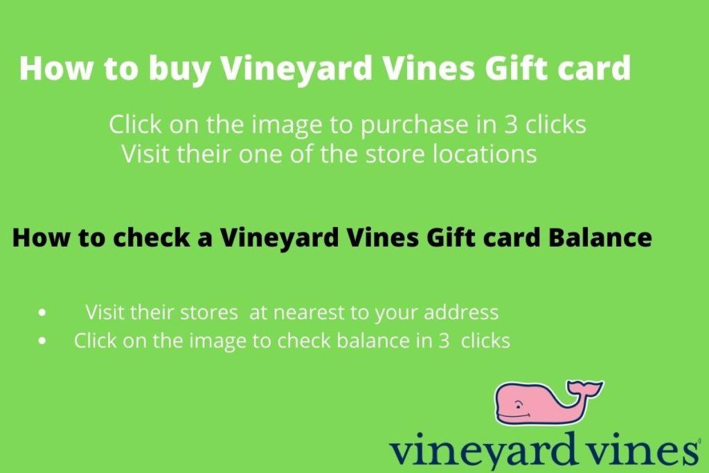 vineyard vines gift card balance check