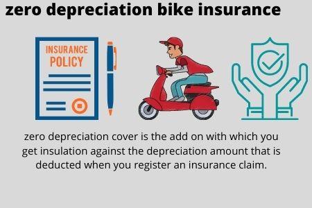 What is zero depreciation bike insurance