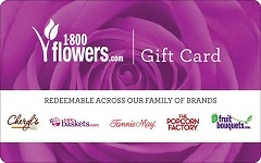 Check your 1800 Flowers gift card balance in 3 Clicks